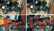 Kawasaki Kh 125 og Honda CD 50